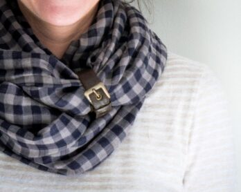 How to sew an infinity scarf 30 minutes project